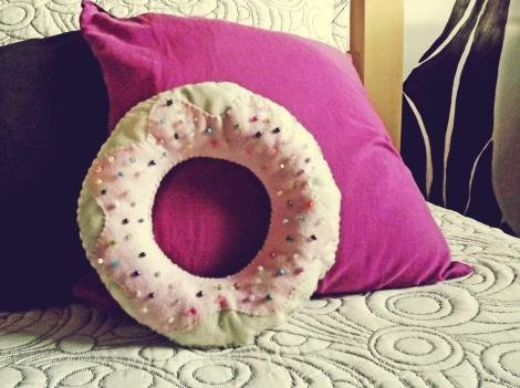 almofada donut